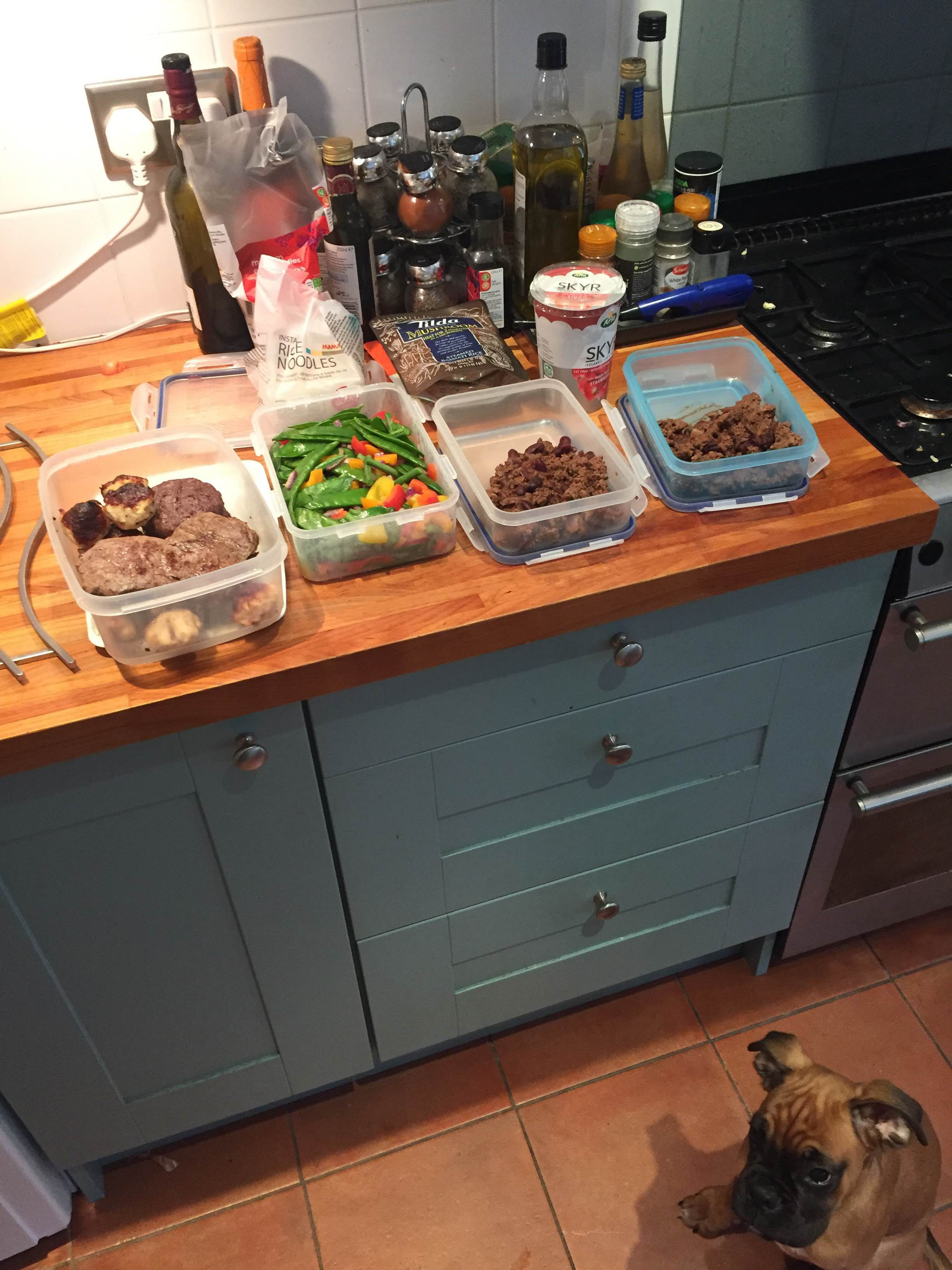 Set your week up right! Meal Prep.