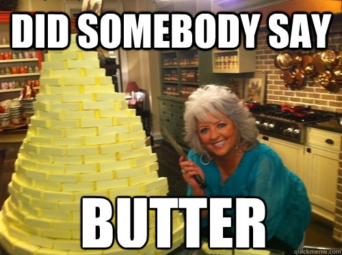 How bigs your knob? (….OF BUTTER)