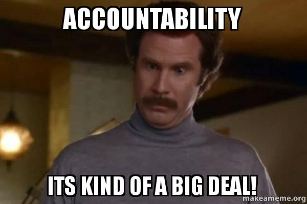 Accountable as F*£k in the gym!